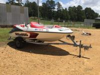 2007 Seadoo Speedster Boat, 84 hours,  Watercraft ID - CEC11544D707, BILL OF SALE ONLY!!!!! Water ready!