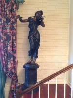 Statue, the Violinist, Hollow, 6' 6""