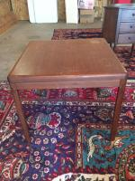 Side Table, Mid Century 24in x 24in Square, 21in H