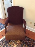 Rocking Chair, Upholstered, , 39 in. Back Height, 23 in. D