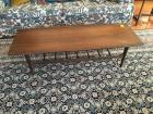 Coffee Table, Mid Century, 54 in. W x 14 in. H x 20 in. W