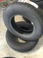 2 Goodyear P215-75R16, Unused