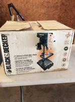 Black and Decker 5 Speed Drill Press
