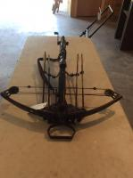 Barnett Deman Crossbow with Scope and Compact Arrow Case