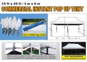 Commercial Instant Popup Tent