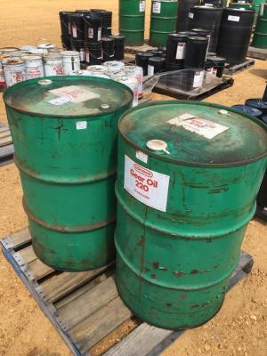 Conoco Gear Oil 220/Redind Oil 100