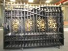 20FT Heavy Duty Bi-Parting Wrought Iron Driveway Gate
