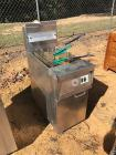 Gas Deep Fryer with 4 Baskets