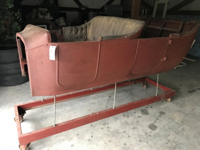 1924 Ford Model T, Touring Chassis Frame