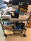 Cart with Office Supplies